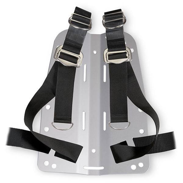 backplate s-s 3 mm complete ADJUSTABLE