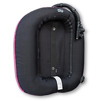 STREAM RING 20 stripe BLACK - PINK