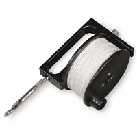reel 120 m with line & double-ender