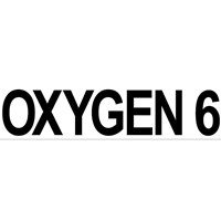sticker OXYGEN 6 (large, 35x8 cm) pcs